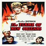 New Orleans Flame Movie Poster Replica