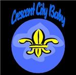 Crescent City Baby Fleur De Lis