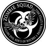 Zombie Squad Ring Patch Revised