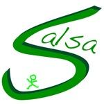 Salsa Dance Handwritten Green