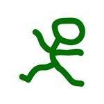 Leap Dancer Green