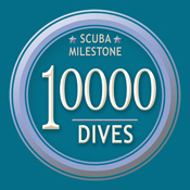 Milestone: 10000 Dives