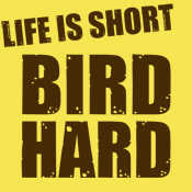 Life is Short Bird Hard