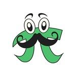Pi Mustache
