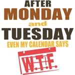Calendar says WTF