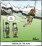 Tarzan of the Alps