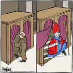 Holy See, Batman!