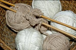 Organic Knitting Yarn