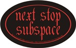 next stop sub space