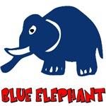 Big Blue Elephant