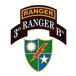 3d Ranger Bn w/Crest