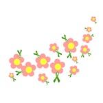 Green Ribbon Flowers