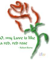 Robert Burns' Red, Red Rose