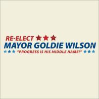 Re-Elect Goldie Wilson