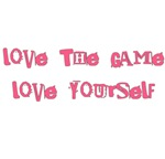 Love the Game Love yourself Mugs Pink