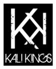 Kali Kings KK Logo White