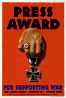Press Award For Supporting War