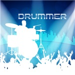 Drummer Equalizer Background