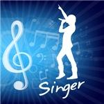 Treble Clef Singer
