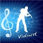 Treble Clef Violinist