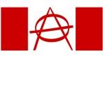 Anarchy Canada Flag