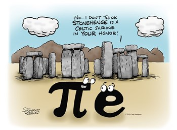 Pi at Stonehenge