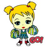 Blonde Cheerleader