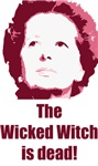 Wicked Witch is Dead (red)