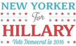New Yorker for Hillary