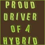 Proud Driver of a Hybrid