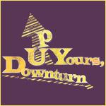 Up Yours Downturn Shirts, Stickers, and More