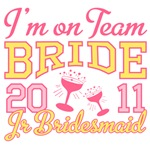 Team Bride 2011 Junior Bridesmaid Shirts