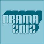 Blue Obama 3D 2012