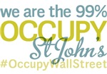 Occupy St Johns T-Shirts