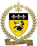 CAILLOUET Family Crest