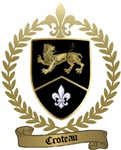 CROTEAU Family Crest