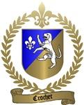 CROCHET Family Crest