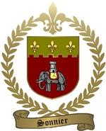 SONNIER Family Crest