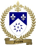 FONTAINE Family Crest