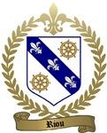 RIOU Family Crest