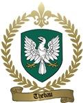 THEBAU Family Crest