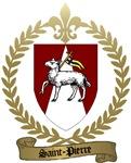 SAINT-PIERRE Family Crest