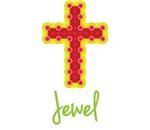 Jewel Bubble Cross