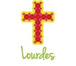 Lourdes Bubble Cross