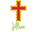 Jillian Bubble Cross