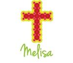 Melisa Bubble Cross