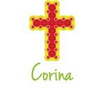 Corina Bubble Cross