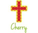 Cherry Bubble Cross