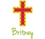 Britney Bubble Cross