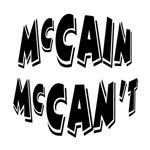 McCain McCan't Anti-Republican Humor